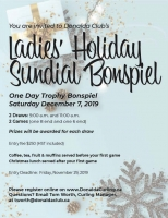 Ladies Holiday Sundial Bonspiel
